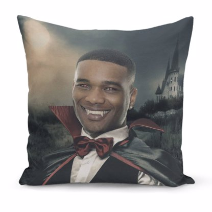 Spooky Vampire Pillow