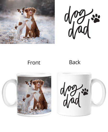 Dog Dad Double Sided Mug