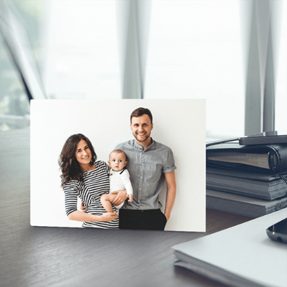 Picture of Custom Desktop Photo Plaque with Personalized Image - Landscape