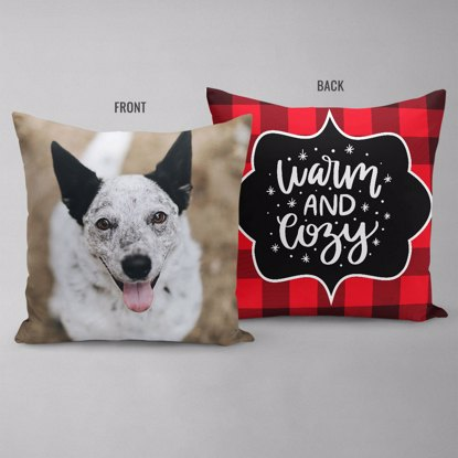 Warm & Cozy Double Sided Pillow