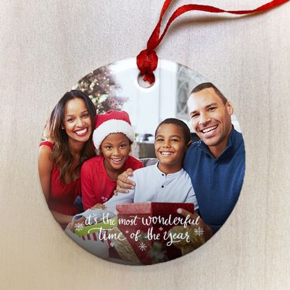 Picture of The Most Wonderful Time of The Year Ceramic Ornament