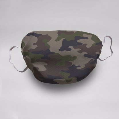 Camo Face Mask (5-pack)