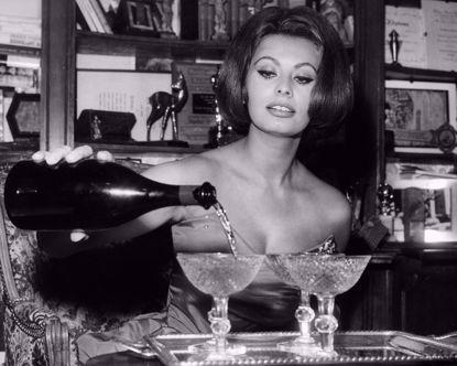 Picture of Sophia Loren Metal Print