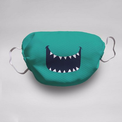 Monster Smile Face Mask