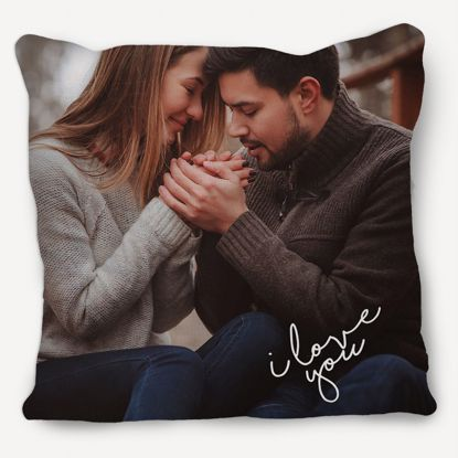 Picture of Custom I Love You Pillow