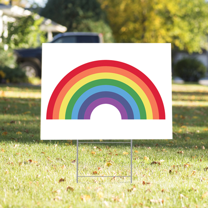 Picture of Rainbow Yard Sign