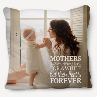 Picture of Mom Has My Heart Pillow