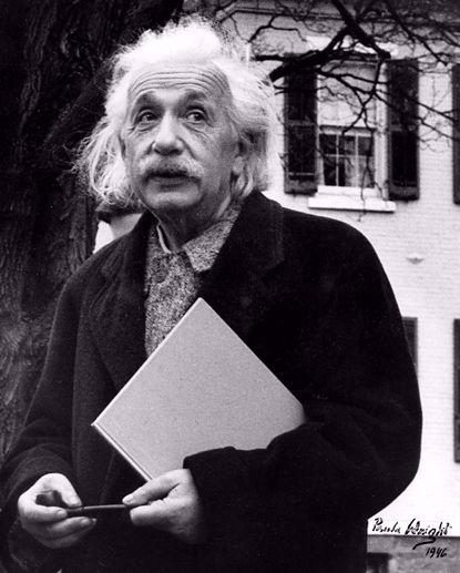 Picture of Einstein Metal Print