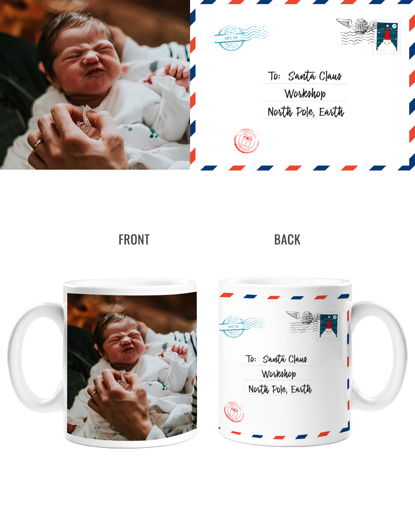 Letter to Santa Double Sided Mug