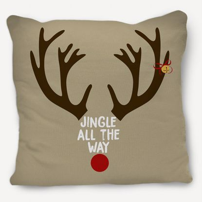 Picture of Rudolph the Red Nose Reindeer Pillow