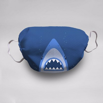 Baby Shark Face Mask