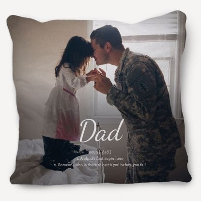 Picture of Definition of Dad Pillow