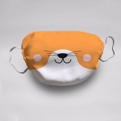 Fox Face Mask (5-pack)