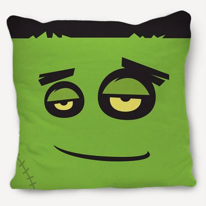 Picture of Frankenstein Pillow
