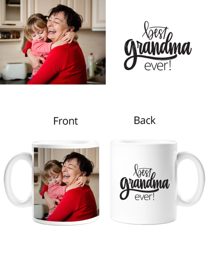 Grandma Double Sided Mug