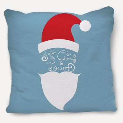 Picture of Santa Claus Pillow with Lyrics