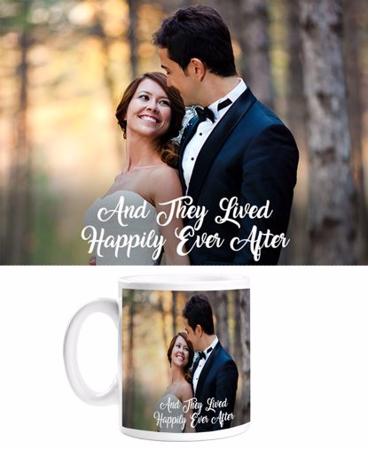Picture of Happily Ever After Mug with Custom Image