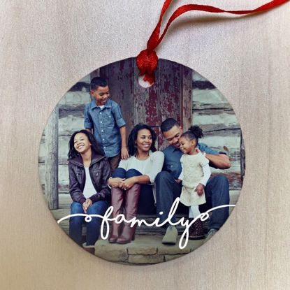 Picture of Family Ceramic Ornament