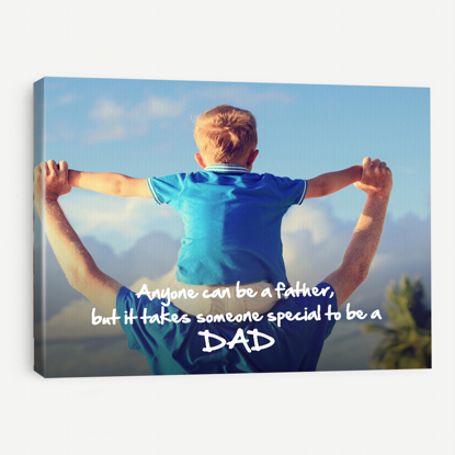 Special Dad Quotes Canvas
