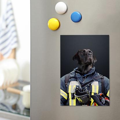 Essential Pet Magnet - Firefighter