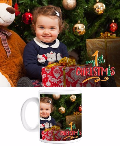 Picture of Baby's 1st Christmas Mug