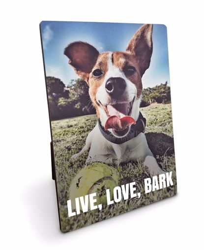 Picture of Live, Love, Bark Plaque