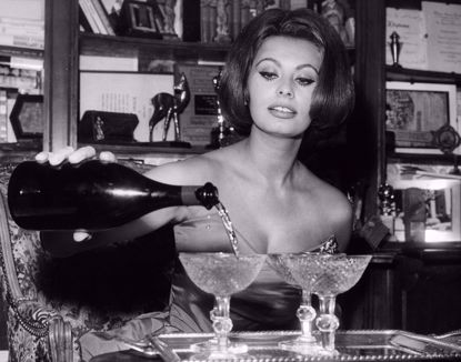 Picture of Sophia Loren Metal Print 11x14