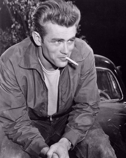 Picture of James Dean Metal Print