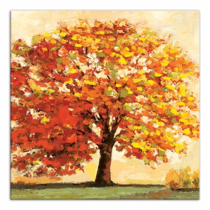 Picture of Fall Tree 14x14 Canvas Wall Art