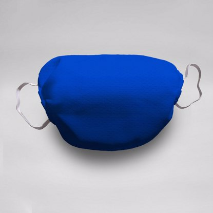 Fade to Blue Face Mask
