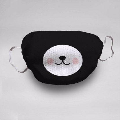Panda Face Mask (5-pack)