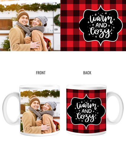 Warm & Cozy Double Sided Mug