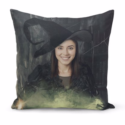 Spooky Witch Pillow