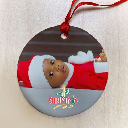 Picture of Baby's First Christmas Ornament
