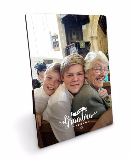 Picture of Personalized Best Grandma Plaque