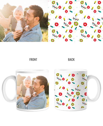 Ornaments & Lights Double Sided Mug