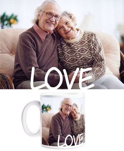 Picture of Custom Love Mug with Personalized Image