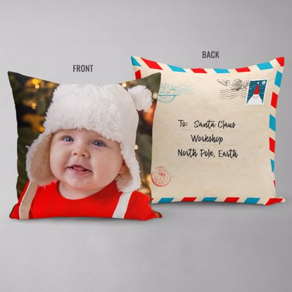 Letter To Santa Double Sided Pillow
