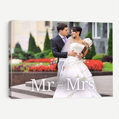 Picture of Mr & Mrs Canvas - 11x14