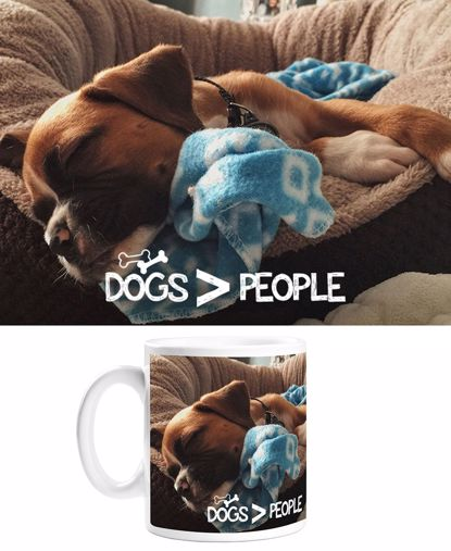 Picture of Dogs > People Mug