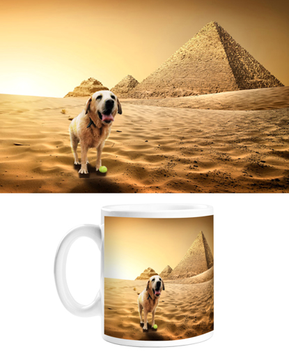 Picture of Adventure Pets Mug - Ancient Egypt