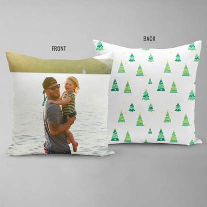 Pine Trees Double Sided Pillow