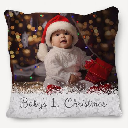 Picture of Baby's First Christmas Pillow