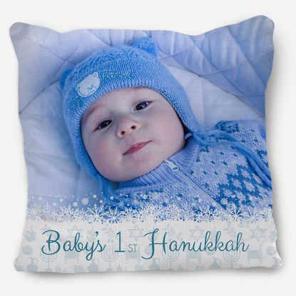 Picture of Baby's 1st Hanukkah Pillow