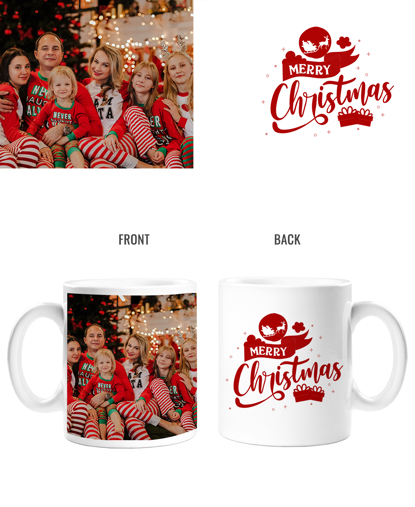 Merry Christmas Double Sided Mug
