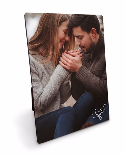 Picture of Custom I Love You Plaque with Personalized Image
