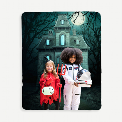Haunted House Blanket