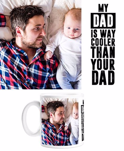 Picture of Cool Dad Mug with Custom Image