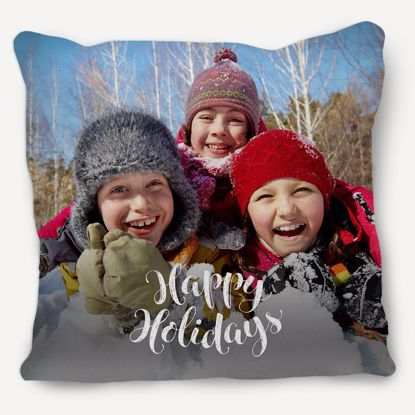 Picture of Happy Holidays Pillow