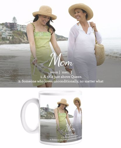 Picture of Personalized Definition of Mom Mug